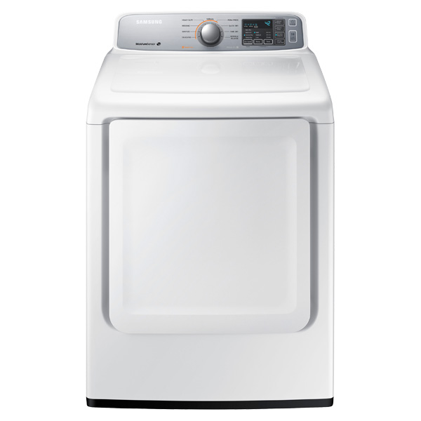 DV7000 7.4 cu. ft. Electric Front Load Dryer (White)