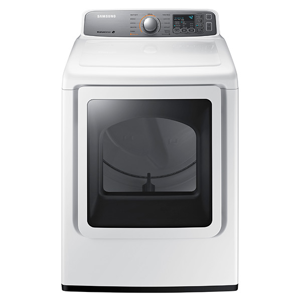 DV7200 7.4 cu. ft. Electric Front Load Dryer (White)