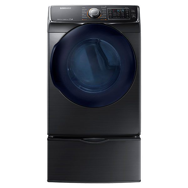 DV6500 7.5 cu. ft. Capacity Electric Dryer (Black Stainless Steel)