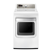 7.4 cu. ft. King-size Capacity Gas Dryer (White)