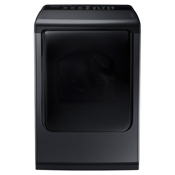 DV8600 7.4 cu. ft. Large Capacity (Electric) Front Load Dryer (Black Stainless Steel)
