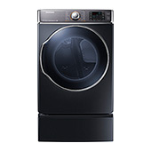DV9100 9.5 cu. ft. Electric Front Load Dryer (Onyx)