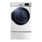 DV9100 9.5 cu. ft. Electric Front Load Dryer (White)