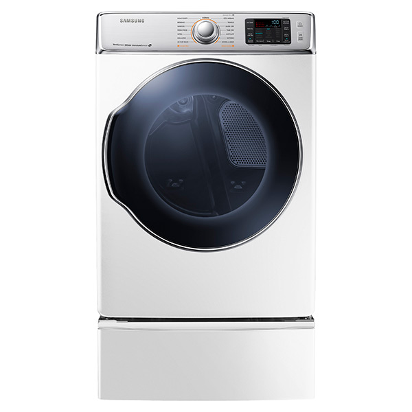 DV9100 9.5 cu. ft. Gas Dryer (White)