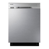 DW80J3020US Front Control Dishwasher with Stainless Steel Interior (Stainless Steel)