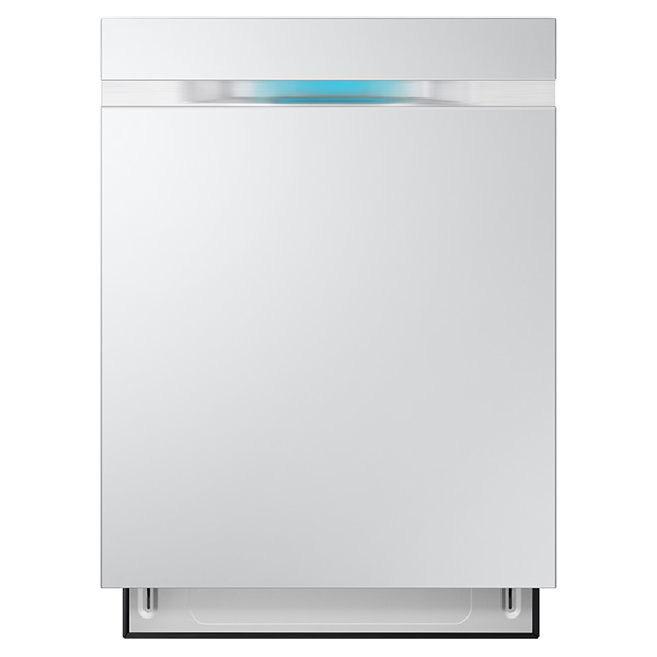 DW80J7550UW Top Control Dishwasher with WaterWall™ Technology (White)