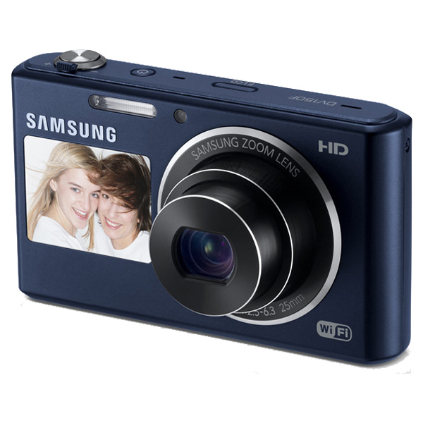 DV150F 16.2MP Dual-View SMART Camera Wi-Fi (Cobalt Black)