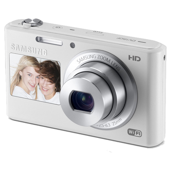 DV150F 16.2MP Dual-View SMART Camera Wi-Fi (White)