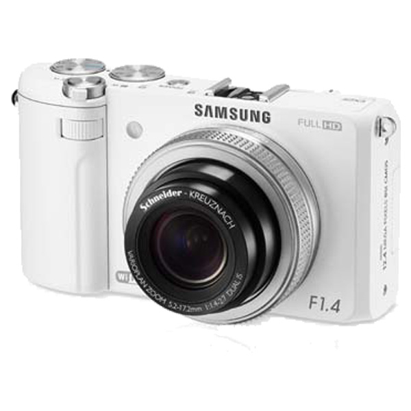 EX2F 12.4MP SMART Camera (White)