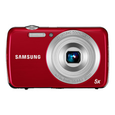 PL20 32MB 14.2 Megapixel Streamlined Digital Still Camera (Red)