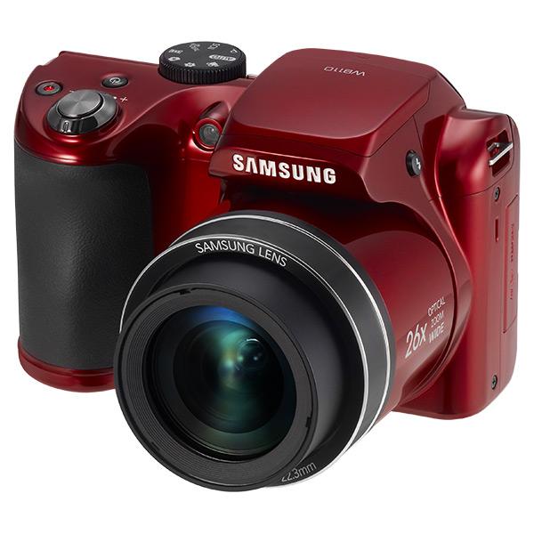 WB110 22.3 Long Zoom Digital Camera (Red)