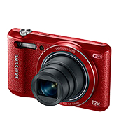 WB35F 16.2MP Samsung SMART Camera (Red)