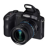 Samsung Galaxy™ NX 20.3MP Camera with 18-55mm Lens