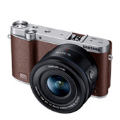 NX3000BOJUS Interchangeable Lens Camera + 16-50mm Power Zoom Lens and Flash (Brown)