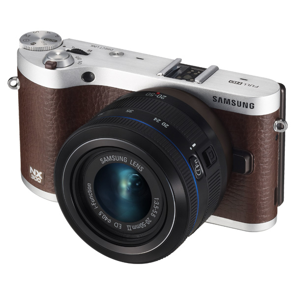 NX300 20.3MP  SMART Camera with 20-50mm Lens (Brown)