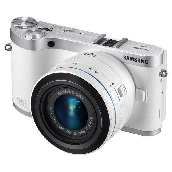 NX300 20.3MP  SMART Camera with 20-50mm Lens (White)