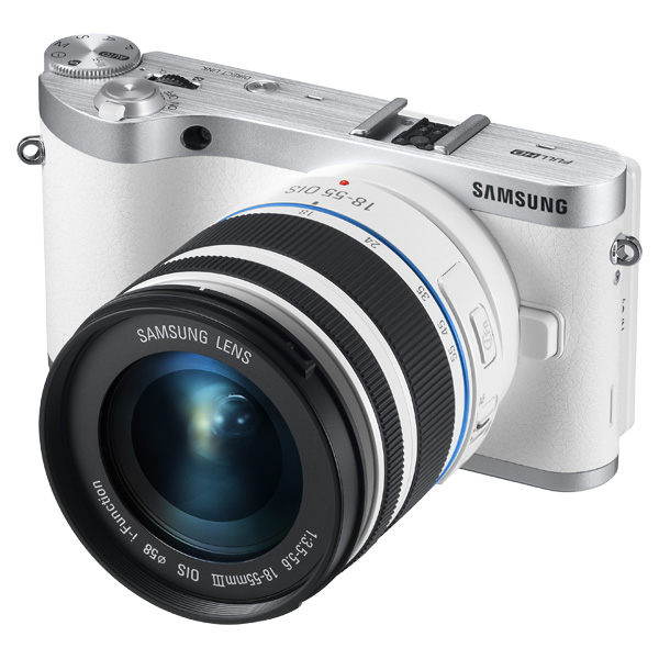 NX300 20.3MP  SMART Camera with 18-55mm Lens (White)
