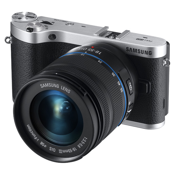 NX300 20.3MP  SMART Camera with 18-55mm Lens (Black)