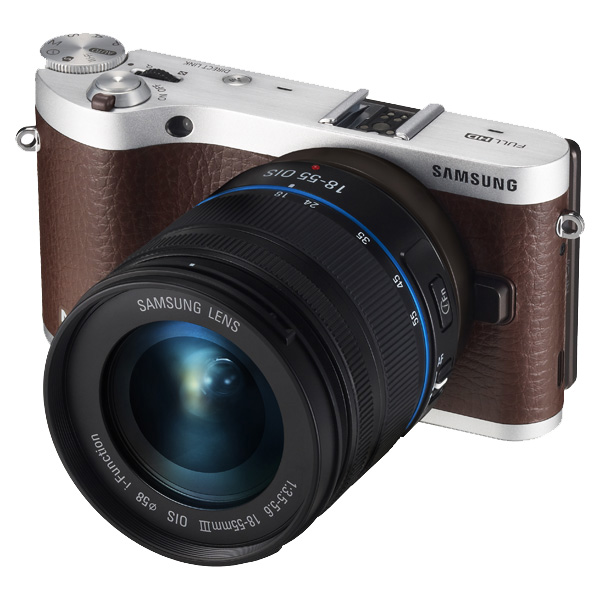NX300 20.3MP SMART Camera with 18-55mm Lens (Brown)