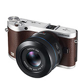 NX300 20.3MP  SMART Camera with 45mm 2D/3D Lens (Brown)<br><br>