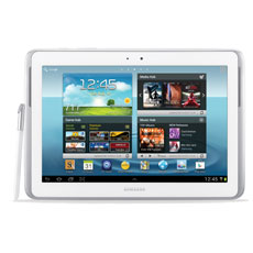 Samsung Galaxy Note 10.1 (Wi-Fi), White 16GB
