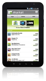 foto dan gambar Samsung Galaxy Tab WIFI