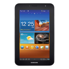 Samsung Galaxy Tab® 7.0 Plus (Wi-Fi), 16GB