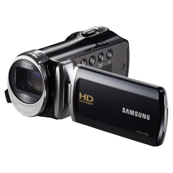 Samsung New F90BN 52X Optimal Zoom HD Camcorder (Black)