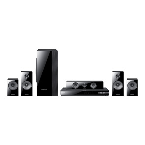 Samsung ht-e5500w 3d-ready blu-ray 5. 1 home theater system with.