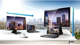 Get a Better View with the Dual Hinge Stand