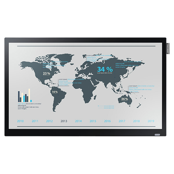"DB22D-T - DB-D Series 22"" Slim Direct-Lit LED Touchscreen Display"