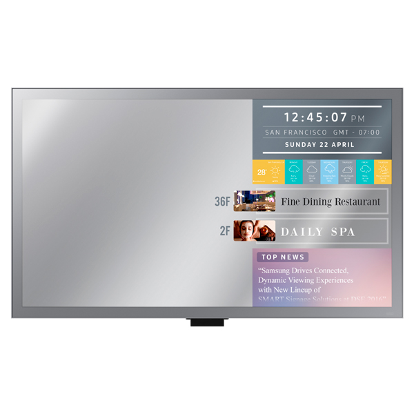 "ML32E — ML-E Series 32"" Direct-Lit LED Mirror Display"
