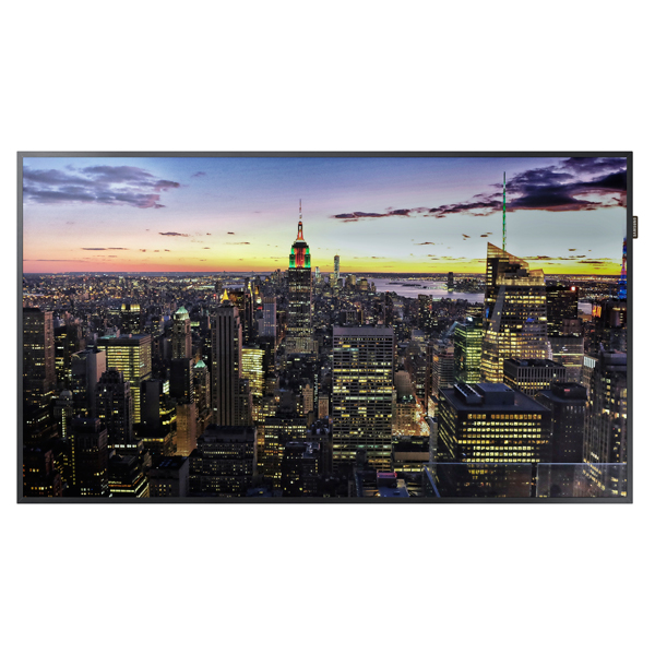 "QM55F — QM-F Series 55"" Edge-Lit 4K UHD LED Display"