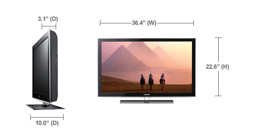 Samsung LN37A550P3F LCD TV Mac
