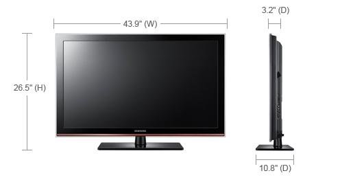 Samsung LN46D630M3F LCD TV Mac
