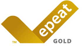 Rated EPEAT® Gold Standard