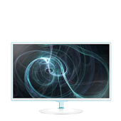 "Samsung Simple LED 27"" Monitor with White w/ Blue ToC Finish"