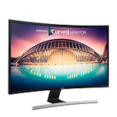 "21.5"" LED Curved Monitor with Glossy  T-shaped Stand"
