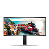 "34"" Ultra-wide Curved Screen Monitor"