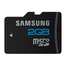 2GB microSD Card MB-MS2GA High Speed