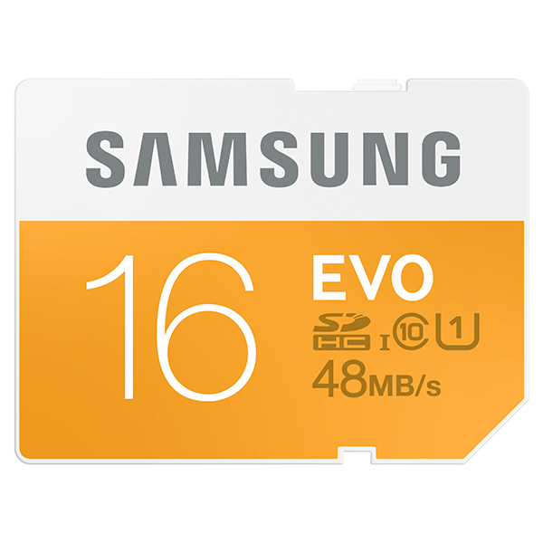 SDHC 16GB EVO Memory Card