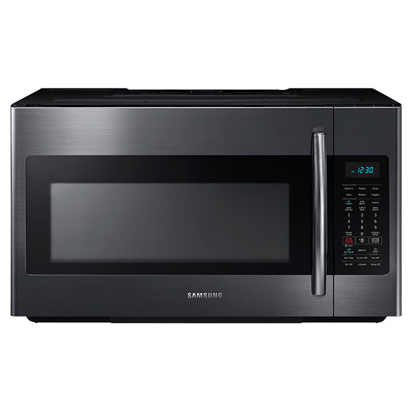 ME18H704SFG 1.8 cu. ft. Over The Range Microwave with Sensor Cooking (Black Stainless Steel)
