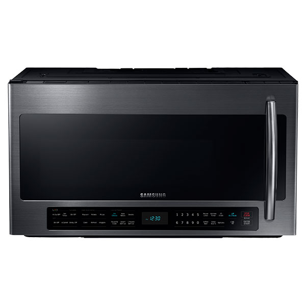 ME21H706MQG 2.1 cu. ft. Over The Range Microwave with Multi-Sensor Cooking (Black Stainless Steel)