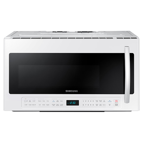 ME21H706MQW/AA 2.1 cu. ft. Over The Range Microwave with Multi-Sensor Cooking (White)