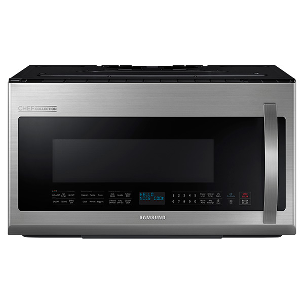ME21H9900AS 2.1 cu.ft Over The Range Microwave with Pro-Clean Filter