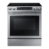 NE58K9430SS 5.8 cu. ft. Slide-In Electric Range
