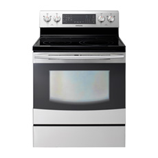New 5.9 cu. ft. Flex Duo™ Electric Range (Stainless Steel)