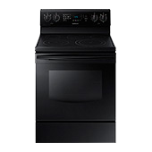 NE59J3420SB Electric Range with Fan Convection (Black)
