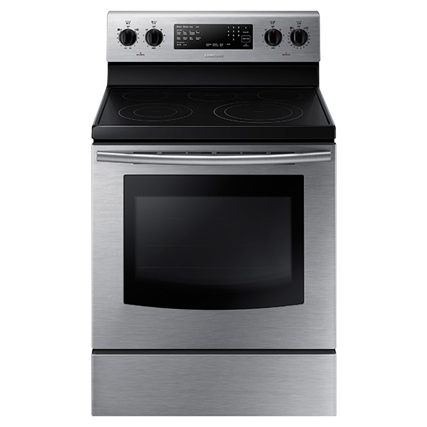 NE59J3420SS Electric Range with Fan Convection (Stainless Steel)