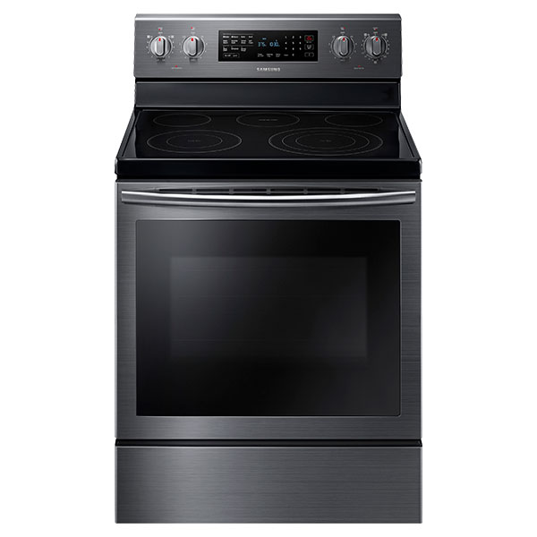 NE59J7630SG Electric Range with True Convection (Black Stainless Steel)